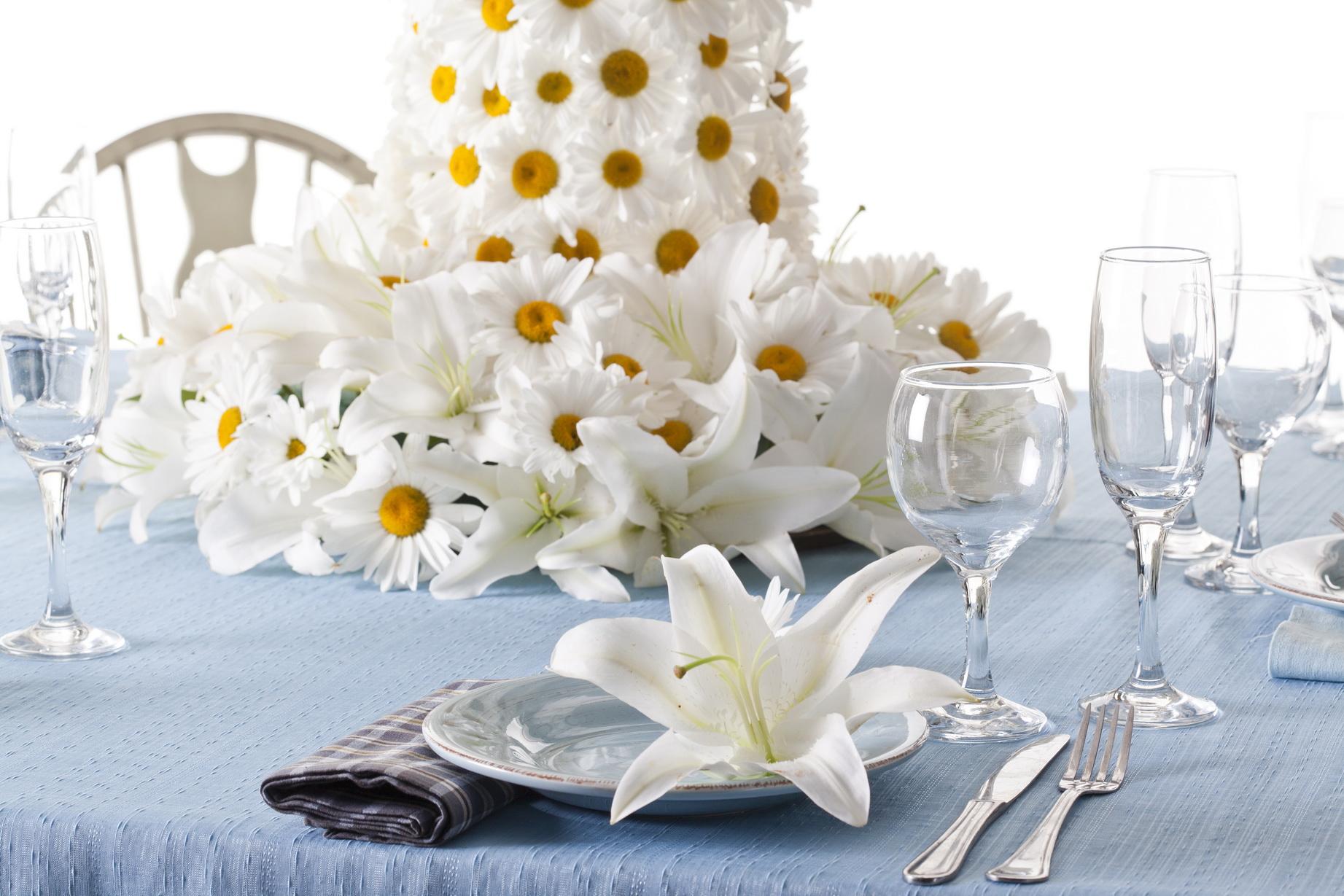 פרחים לשולחן החג