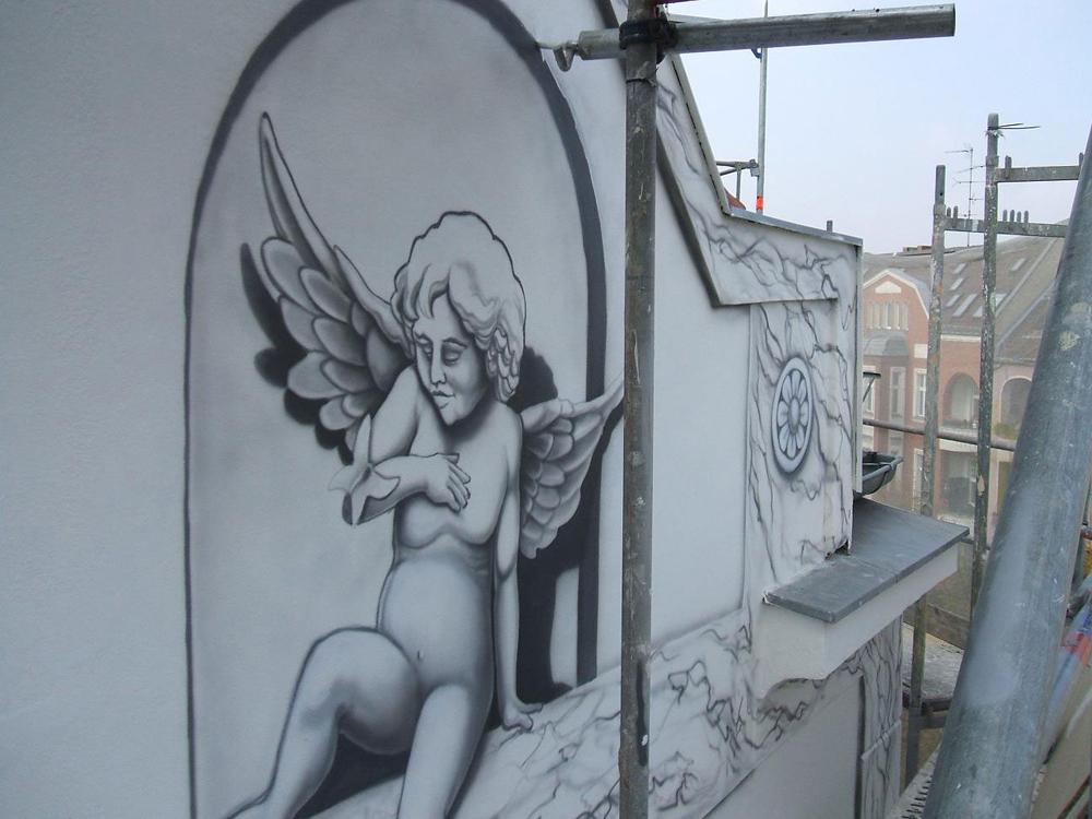 ארז לביא - אומן  קירות